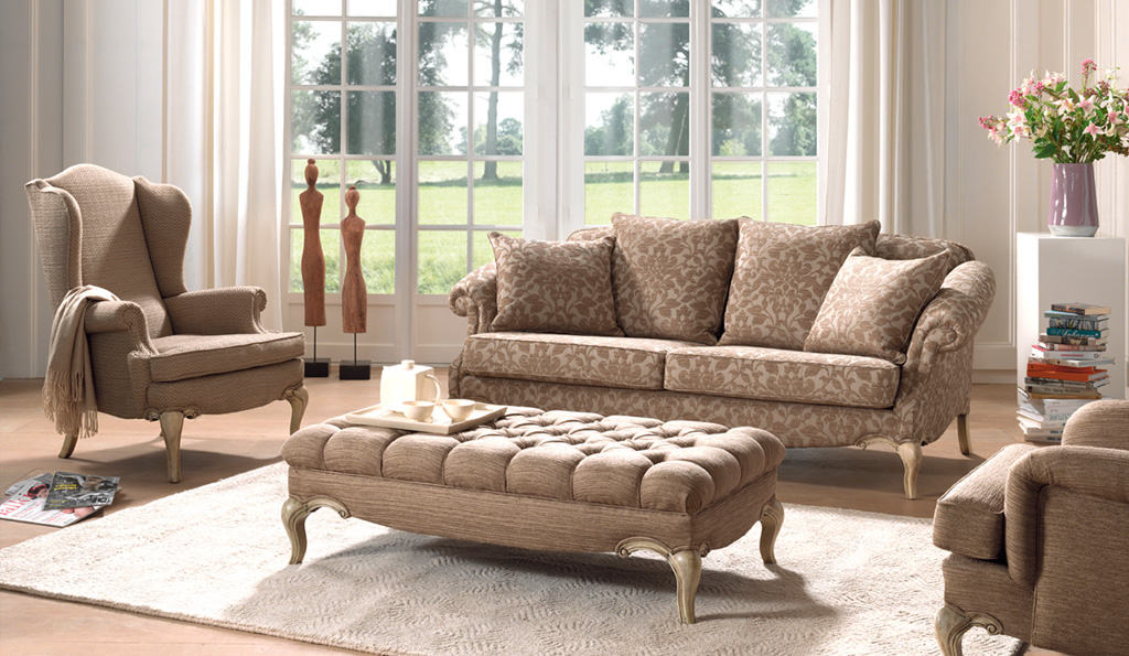 Interieur Klassieke Stijl : Klassieke salons voor je engelse of landelijke interieur cammers